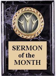November 2010 Sermon Awards