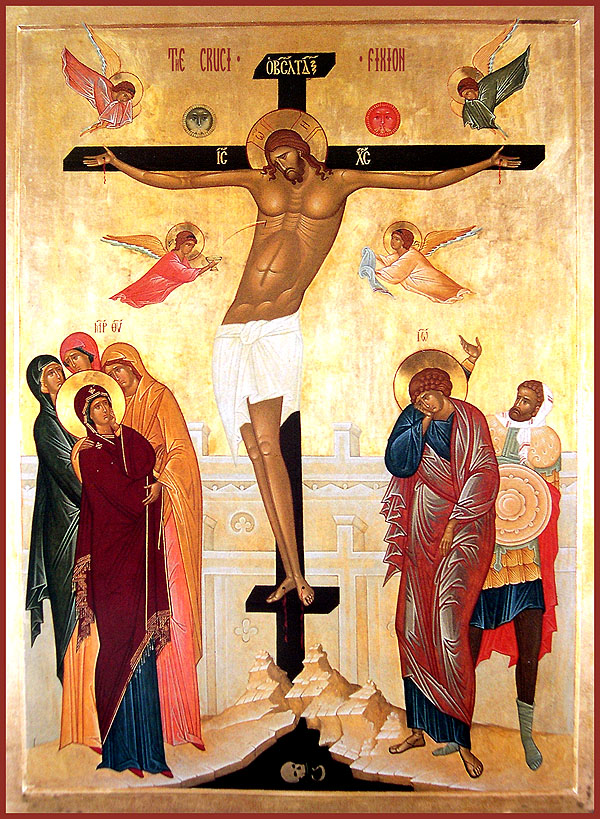 love and crucifixion