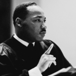 The Rev Dr. Martin Luther King, Jr.