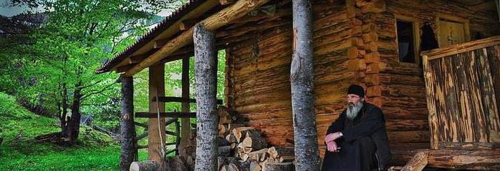 log cabin monk