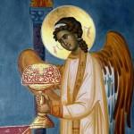 angel in liturgy