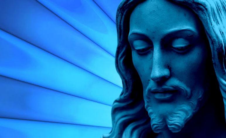 Jesus blue