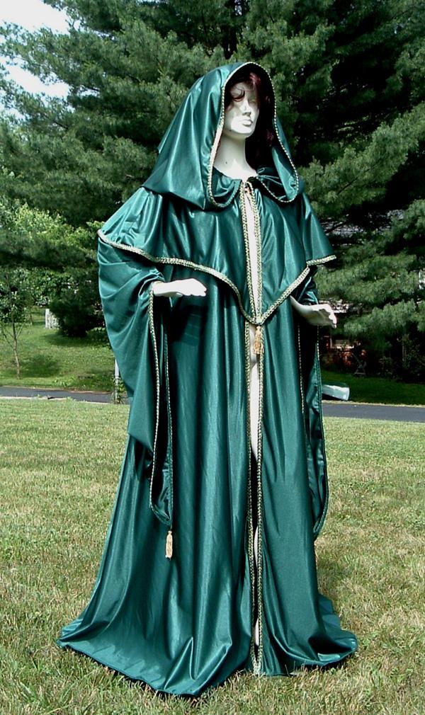 womans cloak
