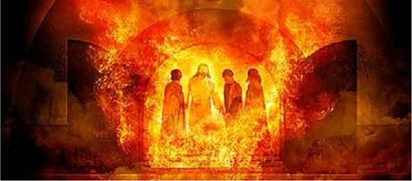 Fiery Furnace found when you read the Old Testament