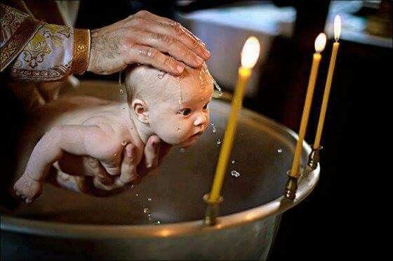Infant Baptism Orthodox Church