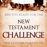 The 2015 New Testament Challenge