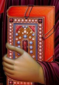 Gospel book icon