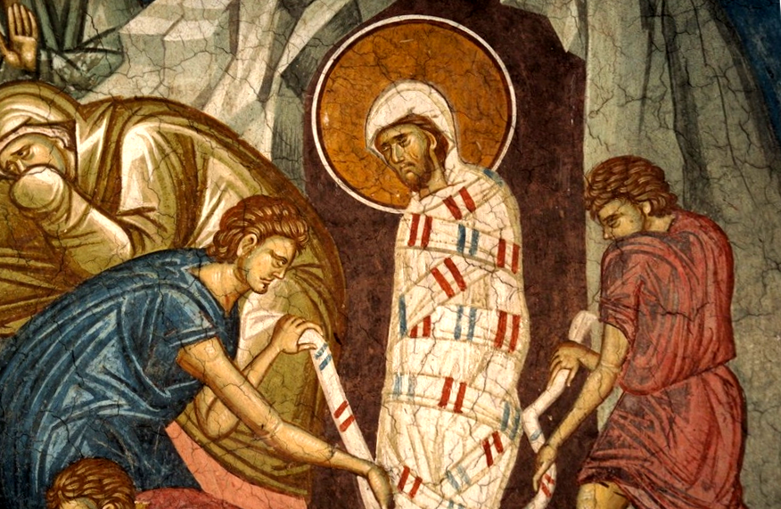 Loosing the Grave Clothes of Lazarus